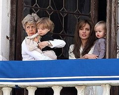 Angelina Jolie and Jane Pitt: Out with the Twins