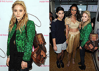 Pictures of Mary-Kate Olsen at a Restaurant Opening in NYC 2010-04-15 11:30:00