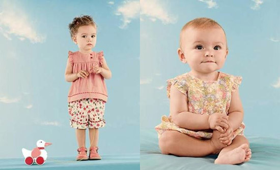 Liberty of London and Jacardi Partner on Summer Tot Attire