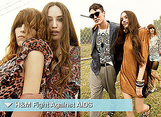 H and M Fight Aids Campaign Starring Lou Doillon and Lizzie Jagger