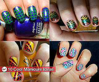 Cool Manicures, Easy Spring Hairstyles, and More From BellaSugar