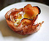 Recipe of the Day: Baked Eggs in Ham Shell