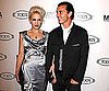 Slide Picture of Gwen Stefani and Gavin Rossdale at a Cocktail Party in LA