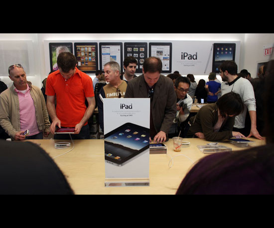 International iPad Shipments Delayed