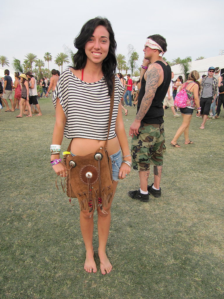Hippie Frocks and Fun Prints Take Over Coachella, Day Two!