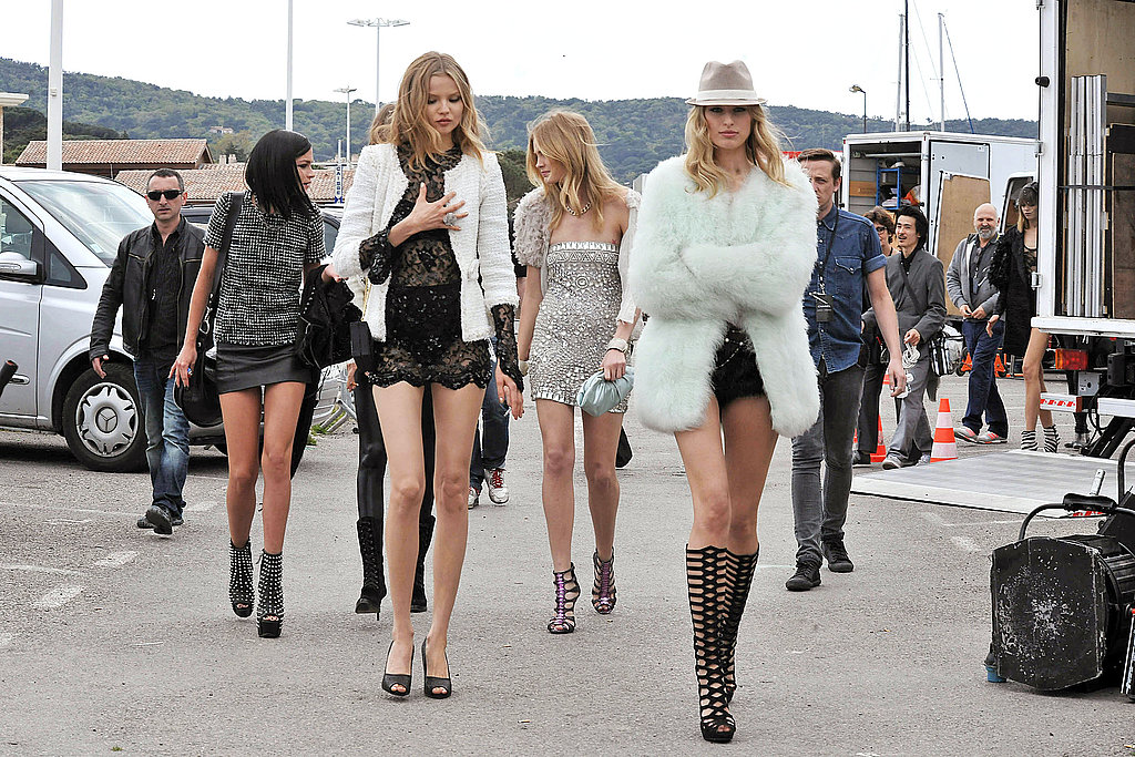Karl Lagerfeld Shoots Short Film in Saint Tropez Over Weekend, Karolina Kurkova Among Cast