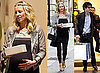 Photos of Pregnant Denise Van Outen Shopping With Lee Mead