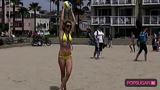 Video of AnnaLynne McCord in a Bikini