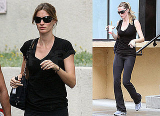 Pictures of Gisele Bundchen Working Out in LA
