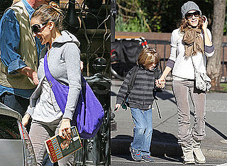 Pictures of Sarah Jessica Parker With James Wilkie in NYC