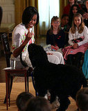 Bo Obama Meets With Children of White House Employees