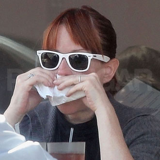 Guess Who's in White Ray-Bans?