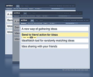 Wridea Organizes Your Ideas and Lists Online