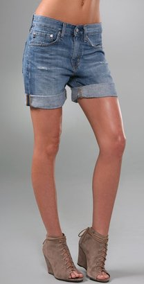 Denim Boyfriend Shorts