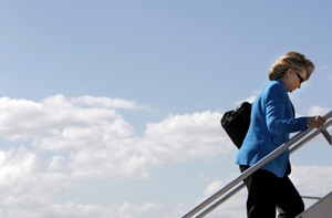 Hillary Clinton Tells Esquire She Travels Too Much
