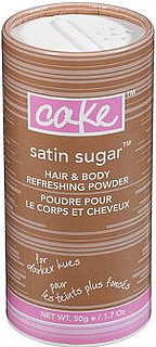 Giveaway For Cake Beauty Satin Sugar Hair & Body Refreshing Powder For Darker Hues 2010-04-25 23:30:00