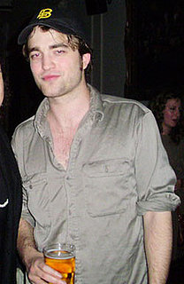 Picture of Robert Pattinson at Lizzy Pattinson's London Gig