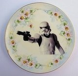 Photos of the Star Wars Vintage Plate Collection from BeatUpCreations