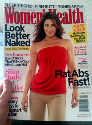 Jillian Michaels Fears Pregnancy Weight Gain