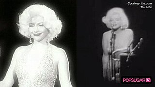Jennifer Lopez as Marilyn Monroe on Lopez Tonight