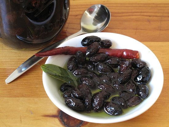 Photo Gallery: Homemade Salt-Cured Olives