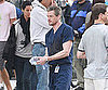 Slide Picture of Eric Dane Filming Grey's Anatomy