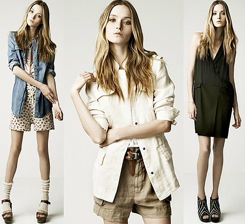 Zara's Summer '10 Look Book