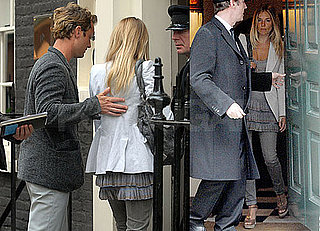 Pictures of Sienna Miller and Jude Law Together and Possibly House Hunting in London