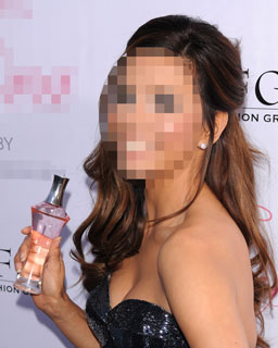 Guess Who&#039;s Showing Off Her New Celebrity Fragrance? 2010-04-28 12:00:00
