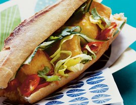 Vegetarian Spicy Banh Mi Recipe