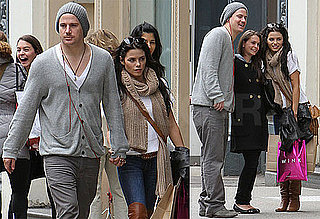 Pictures of Channing Tatum and Jenna Dewan Shopping in Soho
