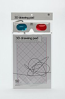 3D Sketch Pad From Urban Outfitters