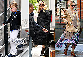 Pictures of Kate Hudson Filming Something Borrowed and Looking For Apartments in NYC