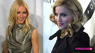 Gwyneth Paltrow and Madonna at Yoga Benefit in NYC