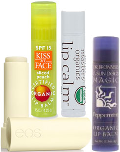 Certified Organic Lip Balms