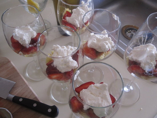 Strawberry Shortcake Parfaits
