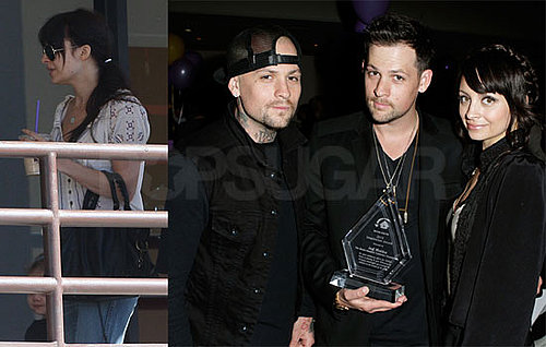 Pictures of Nicole Richie, Joel, Benji and Harlow Madden