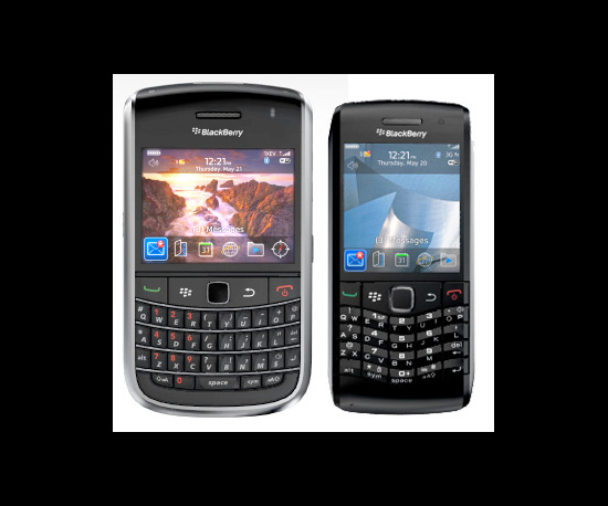 Two New BlackBerrys and a New OS