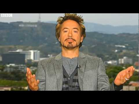 Robert Downey Jr on Jonathan Ross. Part 1