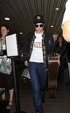 Robert Pattinson at LAX