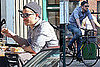 Pictures of Josh Hartnett Eating Lunch at Da Silvano With Two Models
