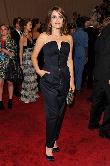 Tina Fey in Yves Saint Laurent