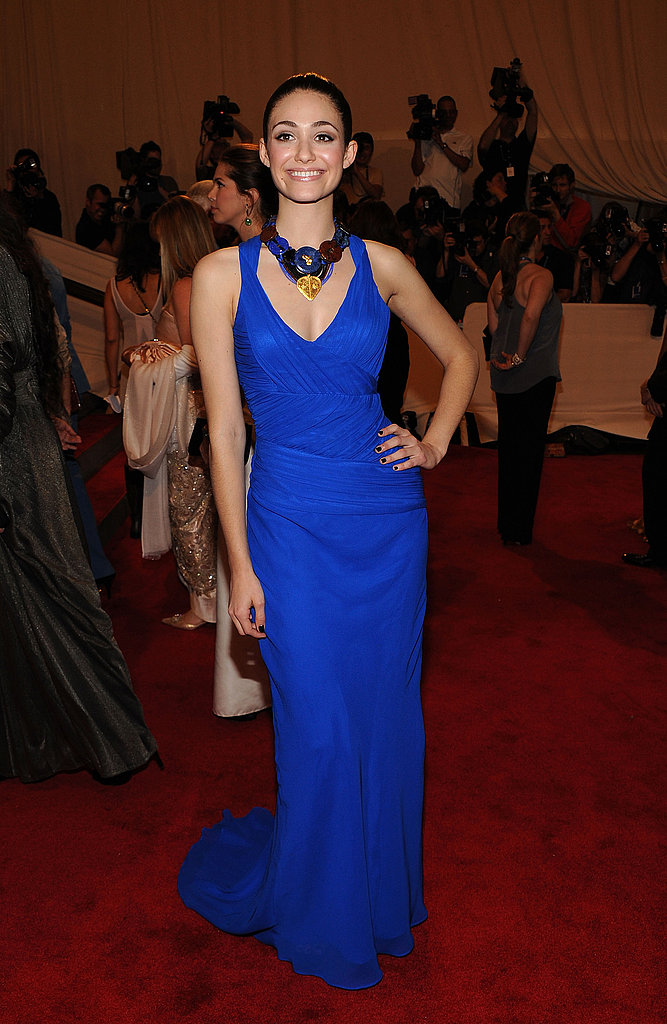 Emmy Rossum in Kenneth Cole