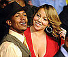 Slide Photo of Nick Cannon and Mariah Carey at Floyd Mayweather Jr. and Shane Mosley Fight
