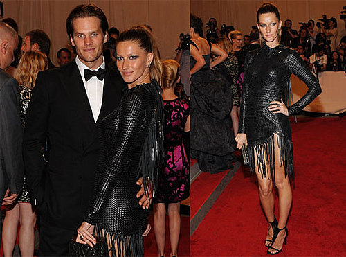 Pictures of Gisele Bundchen and Tom Brady at the Costume Institute Gala
