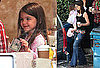 Pictures of Katie Holmes And Suri Cruise Getting Coffees Together in LA