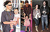 Pictures of Katherine Heigl and Naleigh Kelley Shopping Together in LA