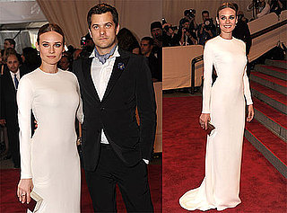 Pictures of Diane Kruger and Joshua Jackson at 2010 Costume Institute Gala