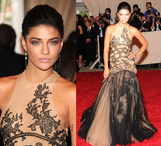 Jessica Szohr at 2010 Costume Institute Gala