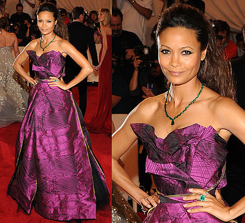 Thandie Newton at 2010 Met Costume Institute Gala